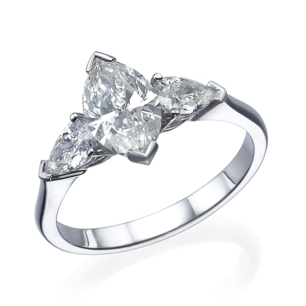 טבעת יהלומים דגם Kylie