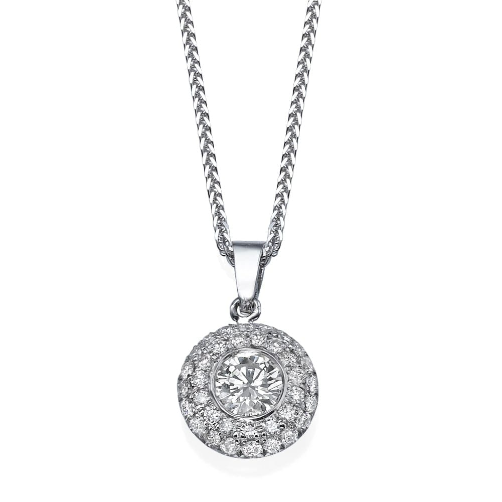 תליון יהלומים דגם Romi ב-32% הנחה!!!