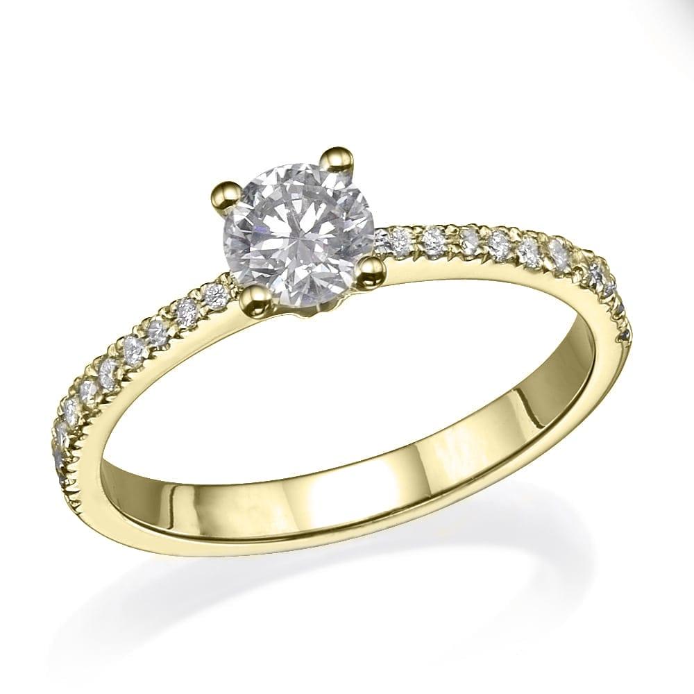 טבעת אירוסין דגם Alma