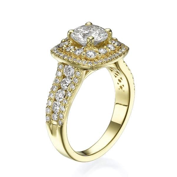 טבעת יהלומים דגם Natasha