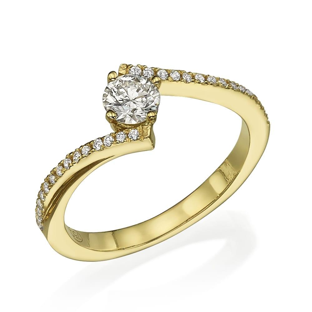 טבעת אירוסין דגם Florence