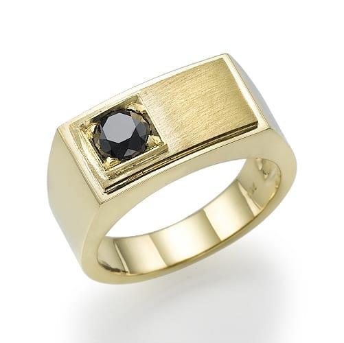 טבעת יהלום לגבר דגם Dylan