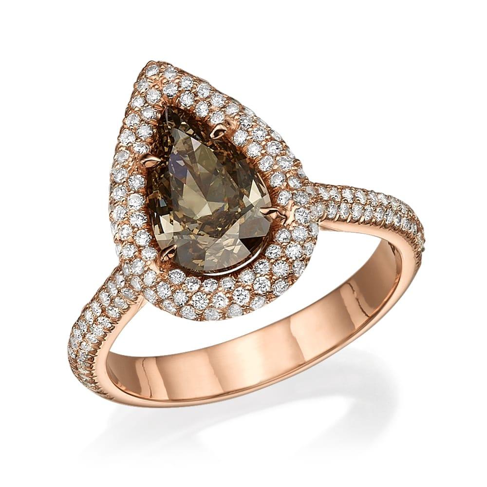 טבעת יהלומים דגם Samantha