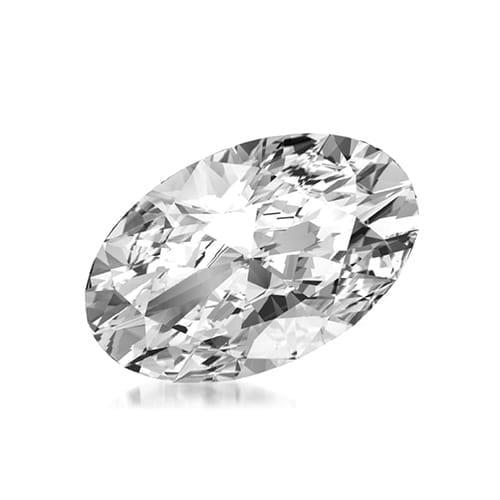 יהלום אובל במשקל 0.50 קראט I\VS1