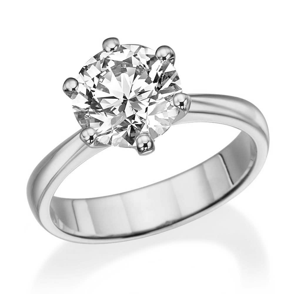 טבעת אירוסין 2.10 קראט ב-40% הנחה!!!