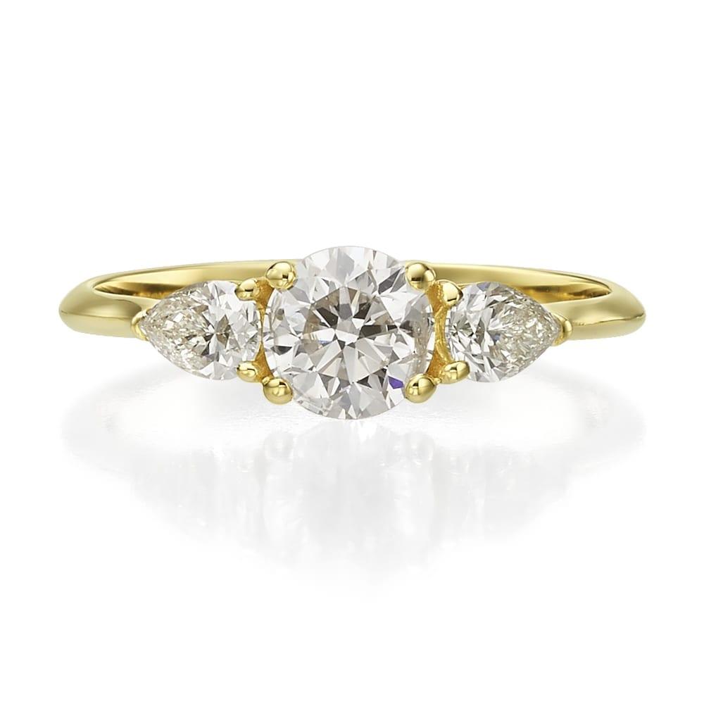 טבעת יהלומים דגם Ornat
