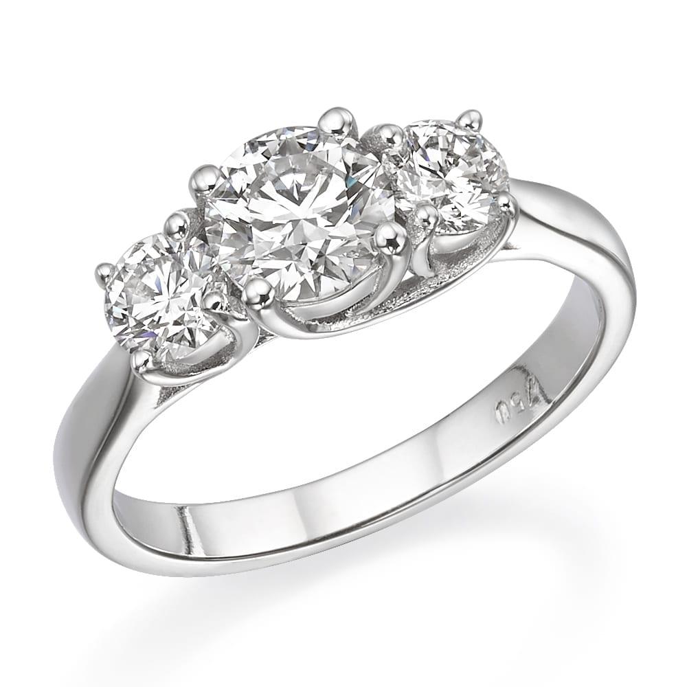 טבעת יהלומים דגם Amanda