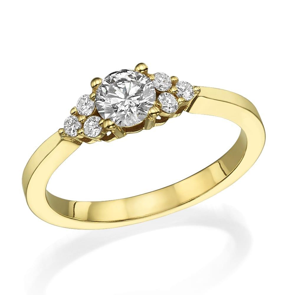 טבעת אירוסין דגם Ciara