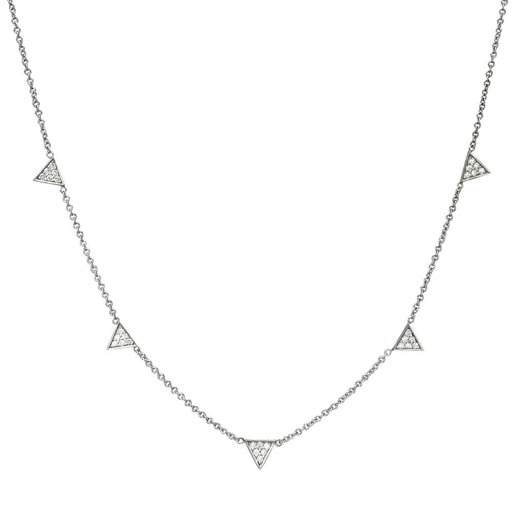 שרשרת יהלומים דגם Triangle ב-33% הנחה!!!