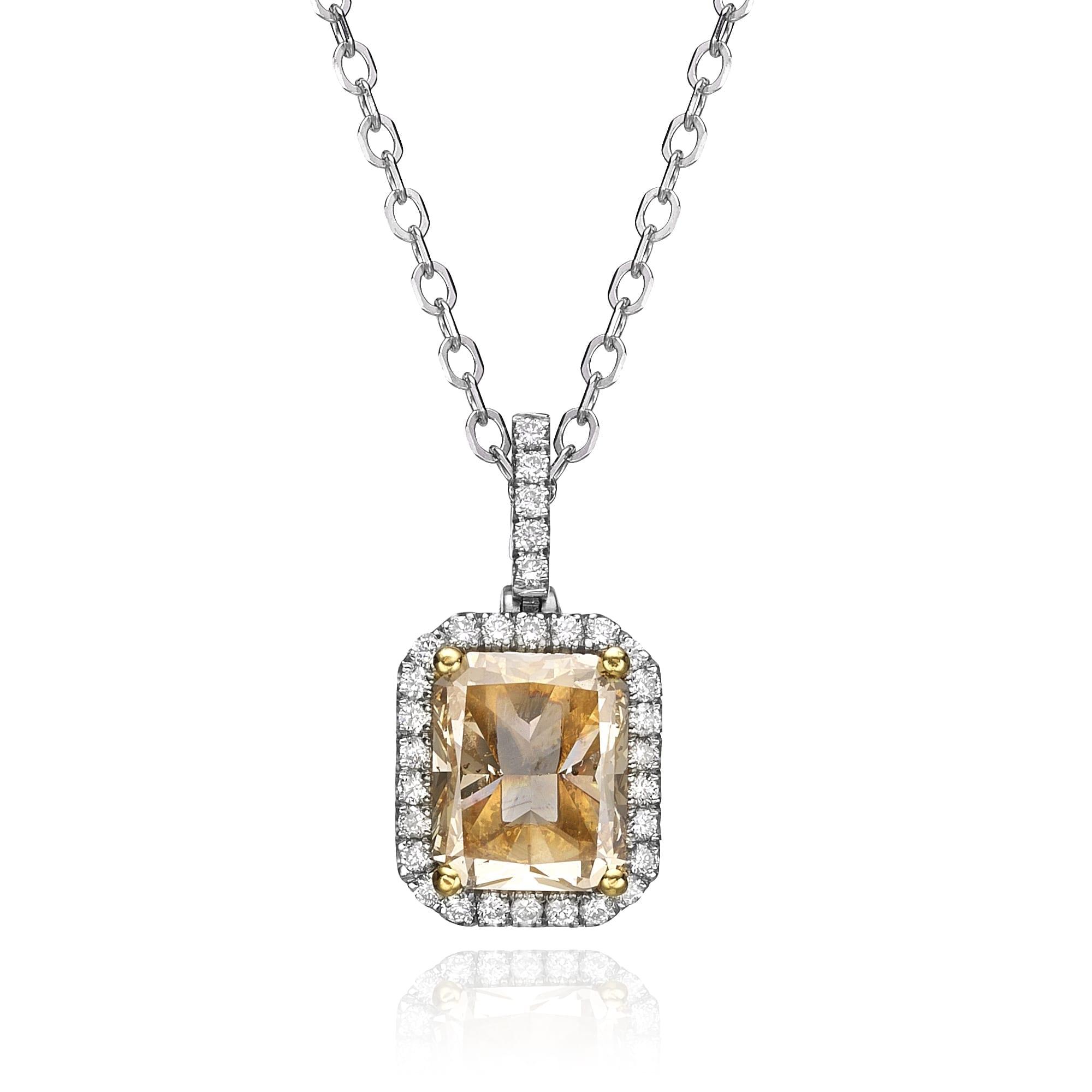 תליון יהלומים דגם Yael