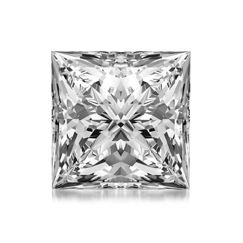 יהלום פרינסס במשקל 0.44 קראט G\SI1