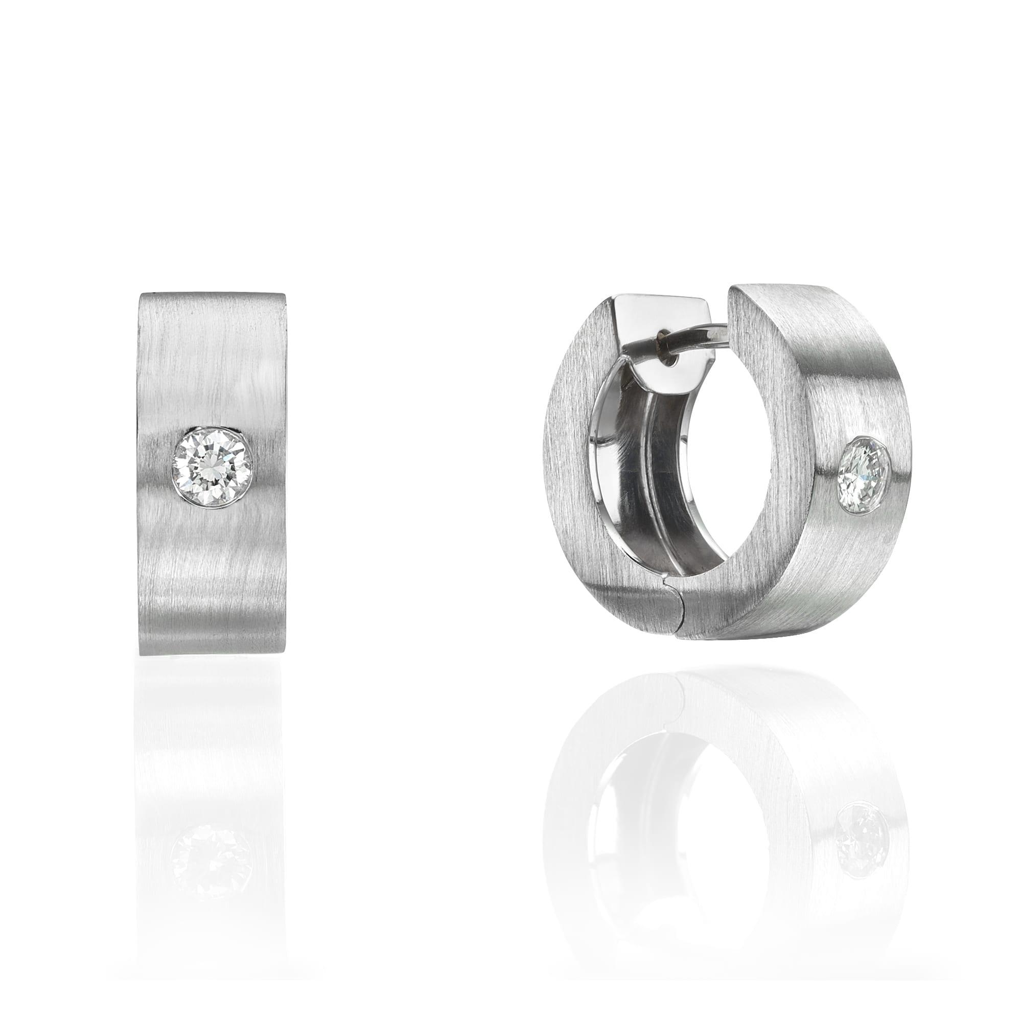 עגילי יהלומים דגם Ornella ב-45% הנחה!!!