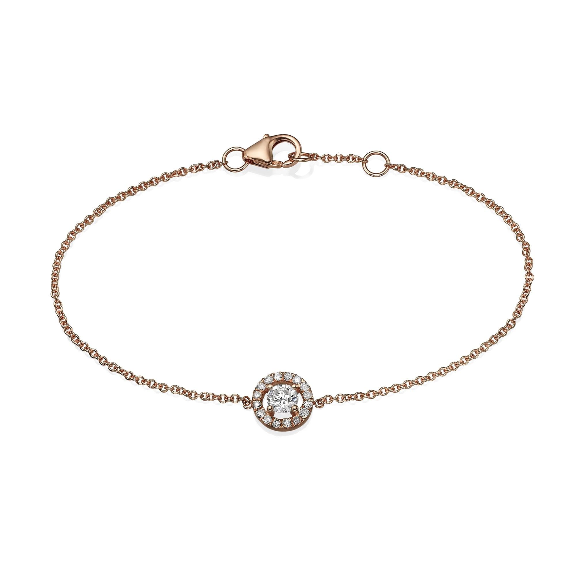 צמיד יהלומים דגם Shir