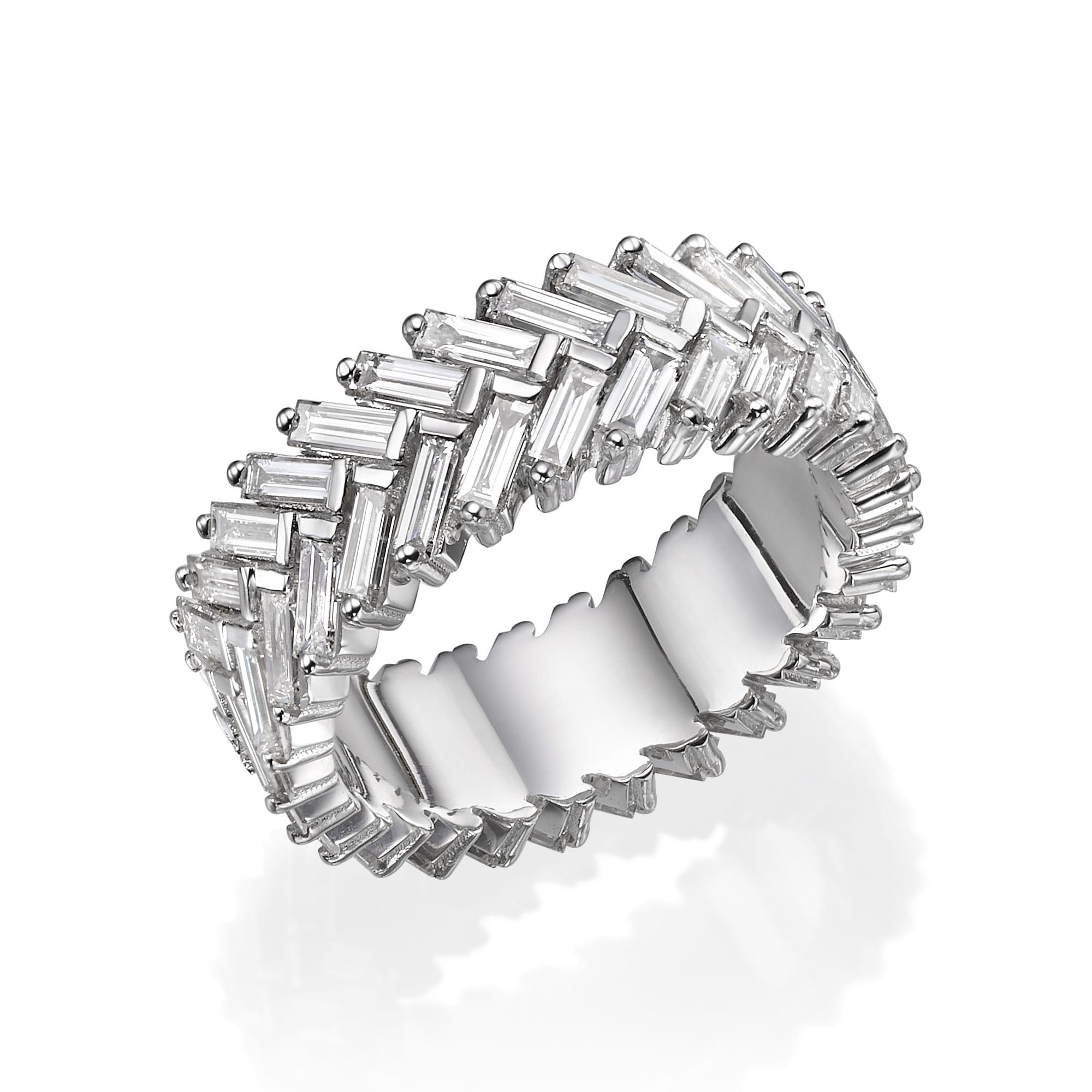 טבעת יהלומים דגם Tal