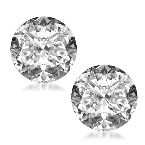 זוג יהלומים עגולים במשקל 1.40 קראט H\SI2