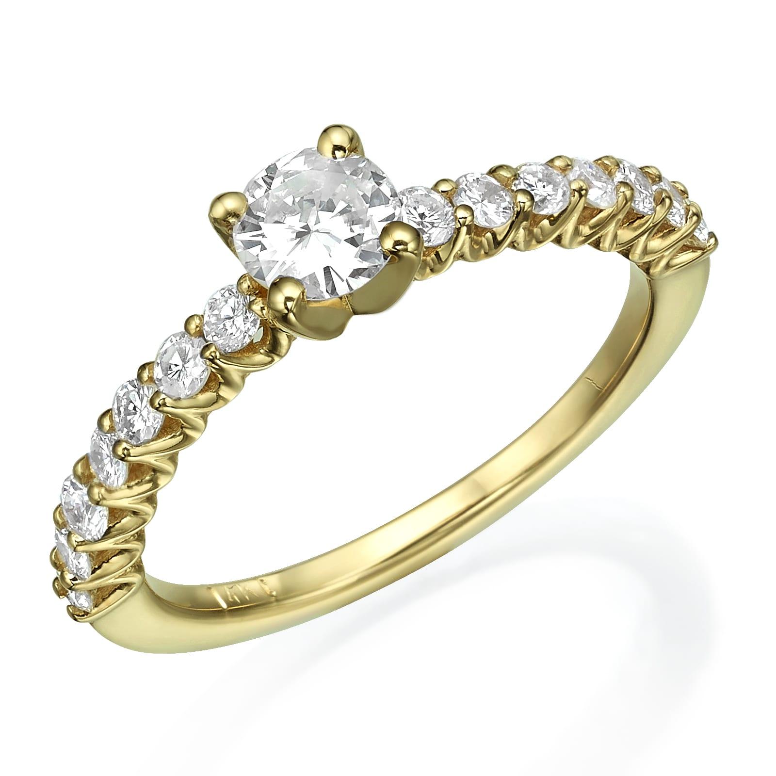 טבעת אירוסין דגם Kim