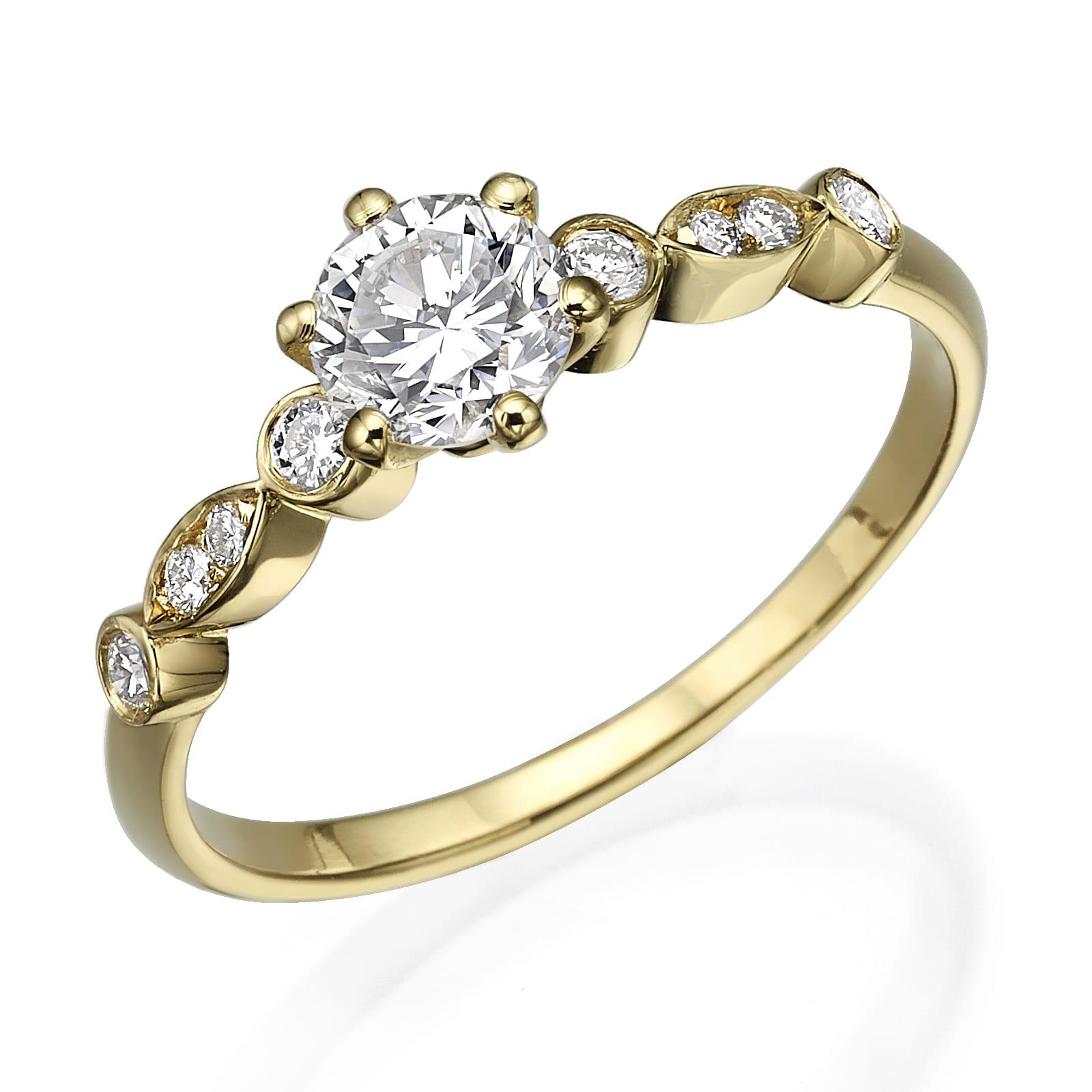 טבעת אירוסין דגם Nadine