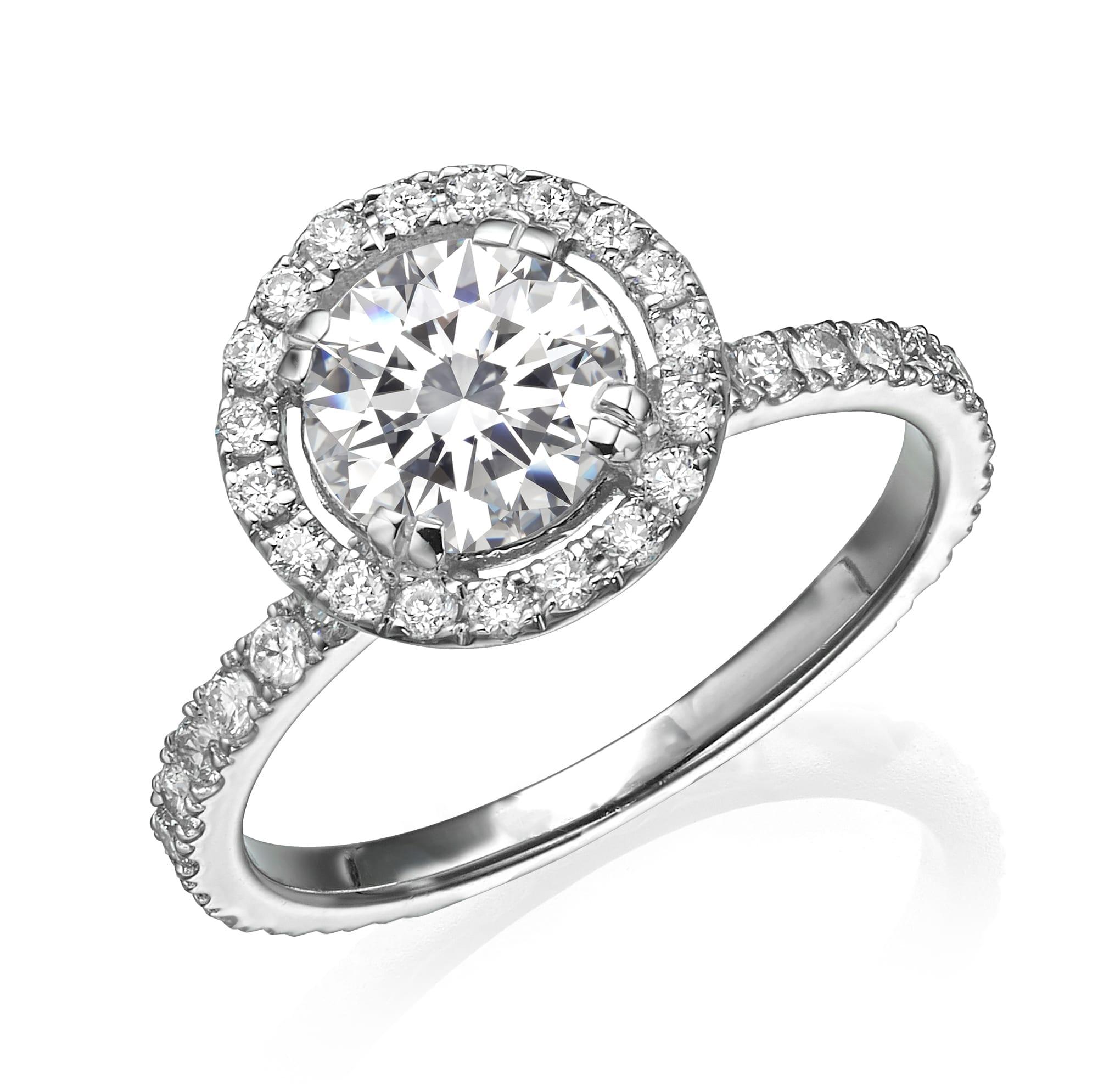 טבעת אירוסין 1.72 קראט ב-40% הנחה!!!