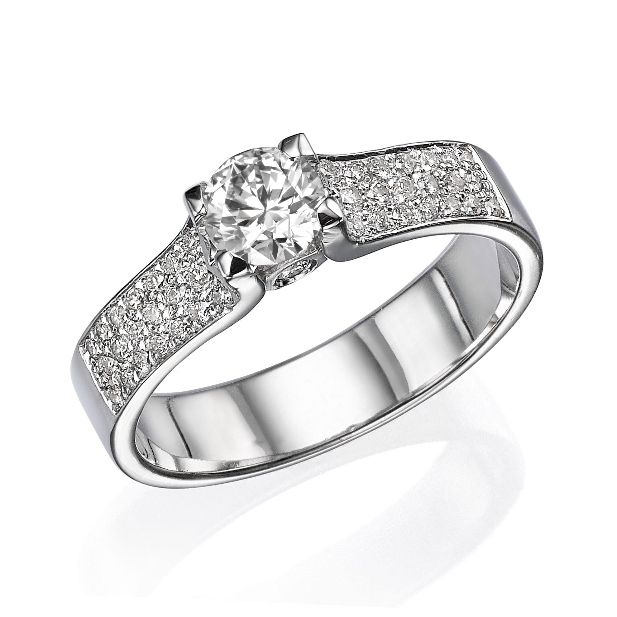 טבעת יהלומים דגם Adele ב-33% הנחה!!!