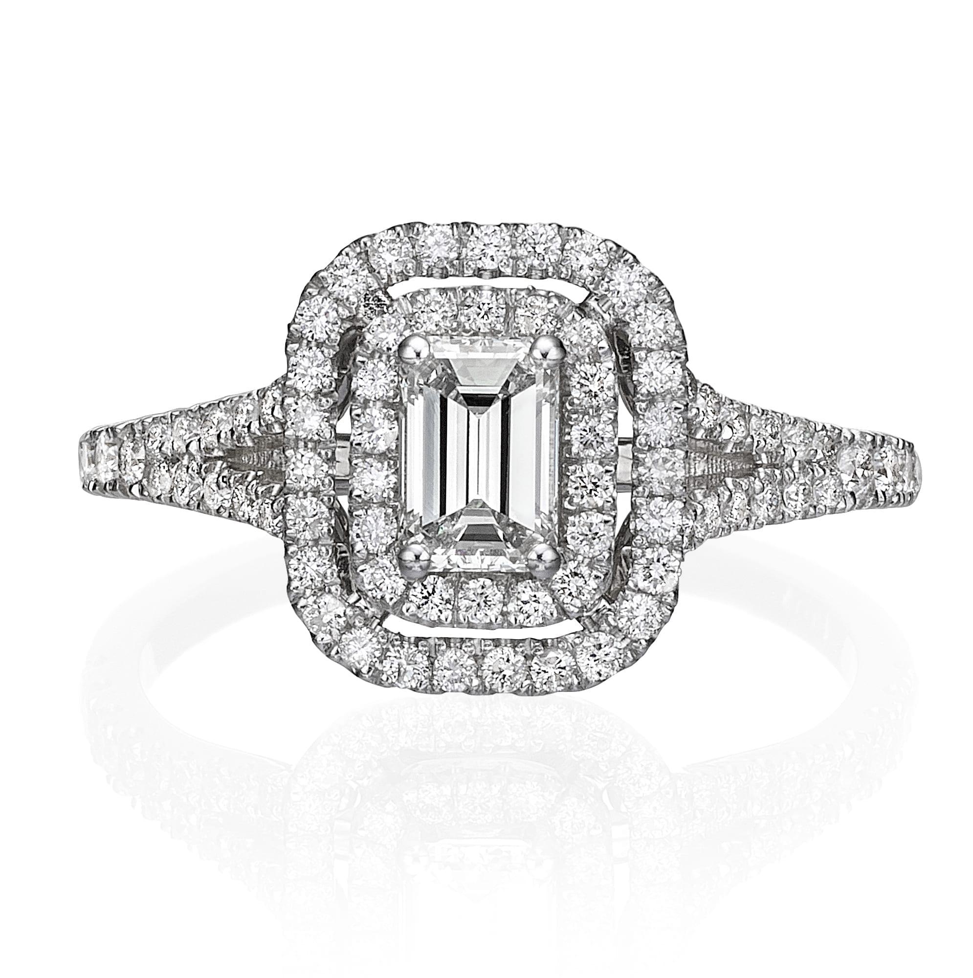 טבעת יהלומים דגם Aline