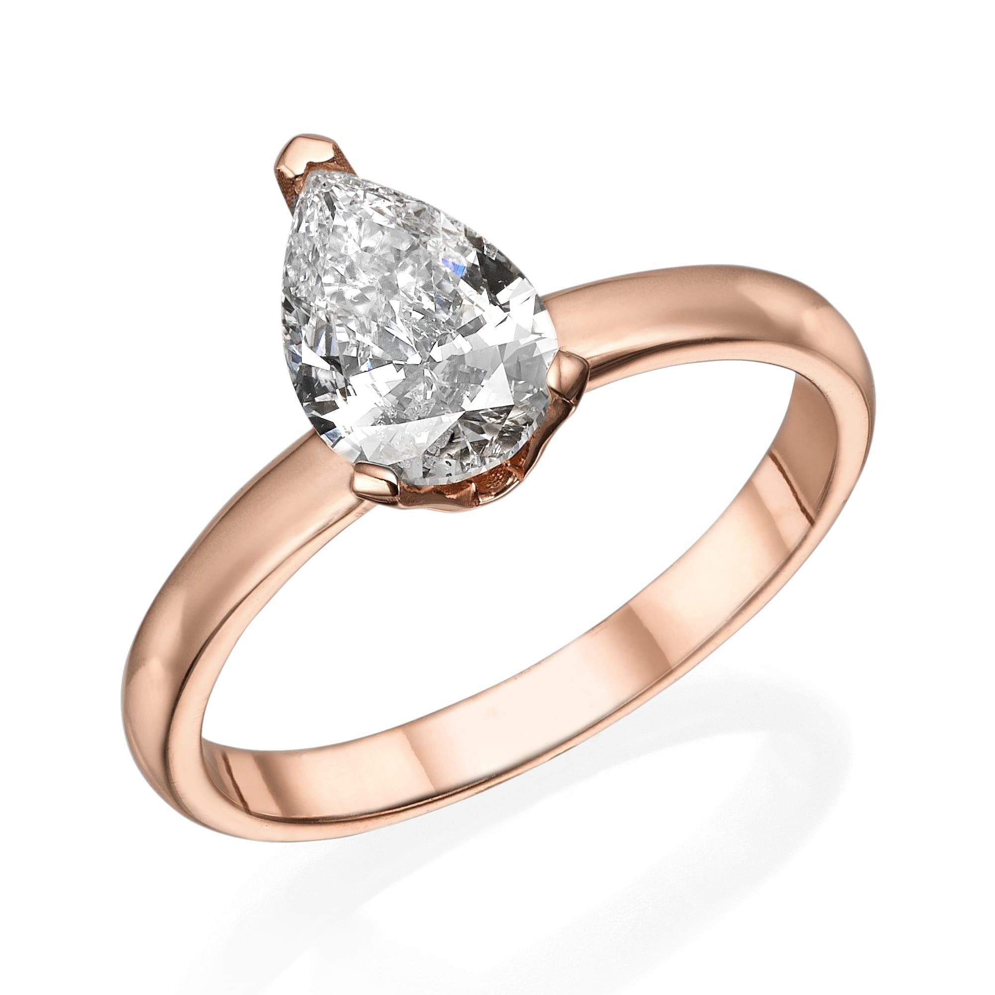 טבעת יהלום דגם Andrea