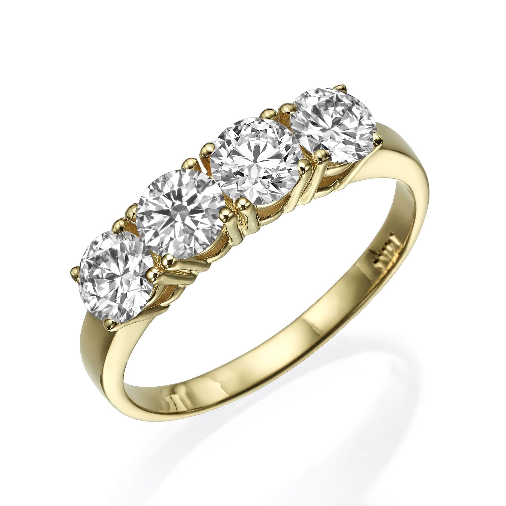 טבעת יהלומים דגם Vanessa