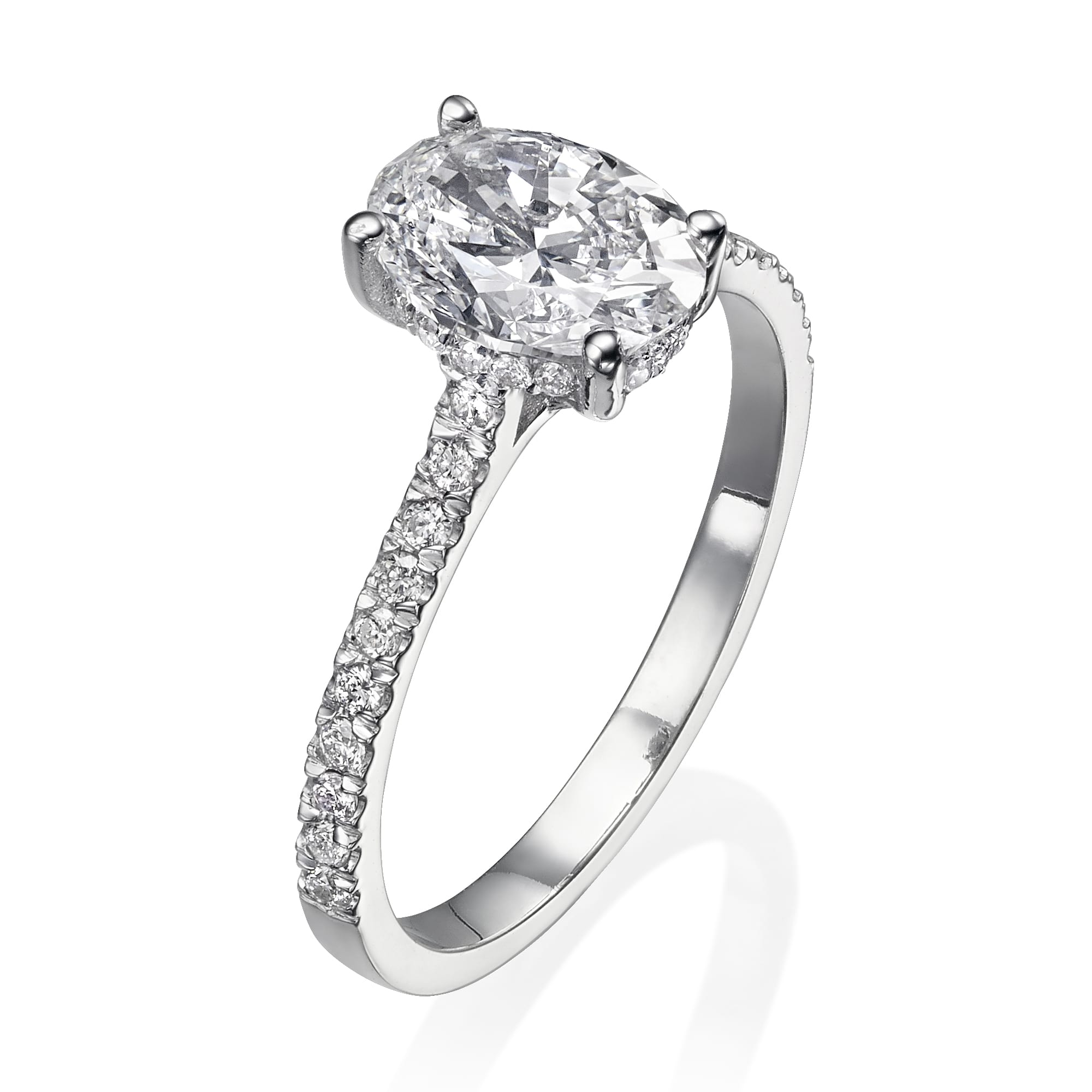 טבעת יהלומים דגם Kathrine