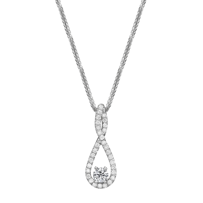 תליון יהלומים דגם Lauren
