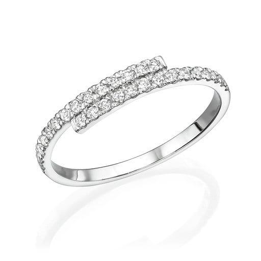 טבעת יהלומים דגם Inna ב-28% הנחה