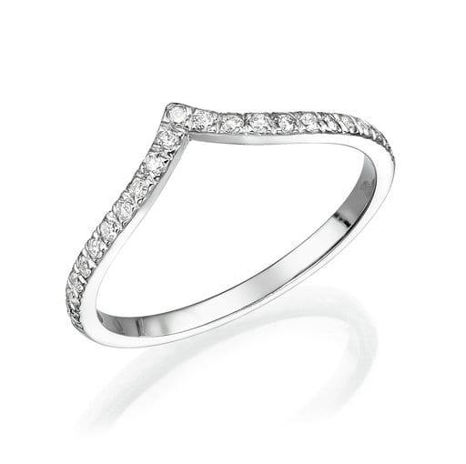 טבעת יהלומים דגם Sian