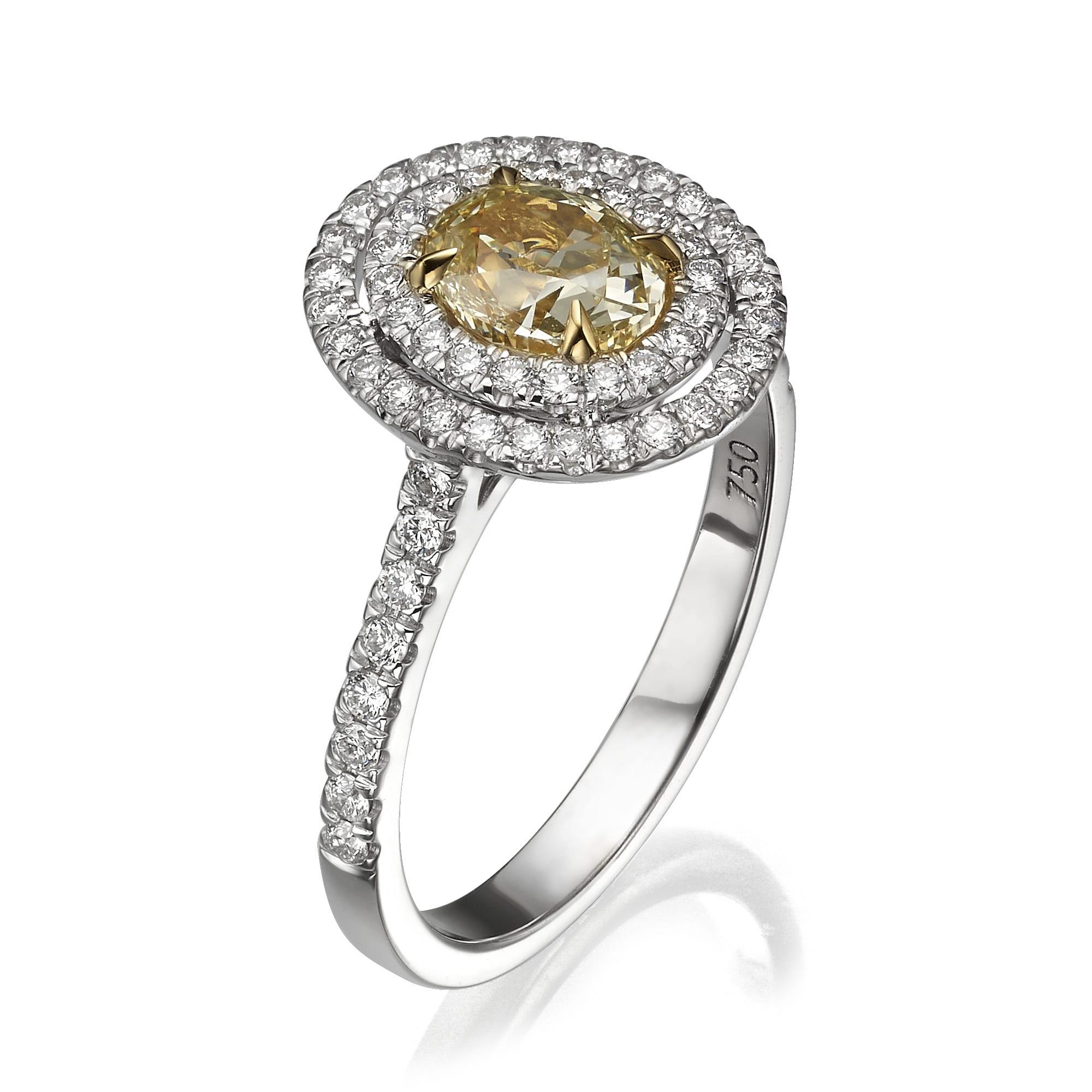 טבעת יהלומים דגם Kendall