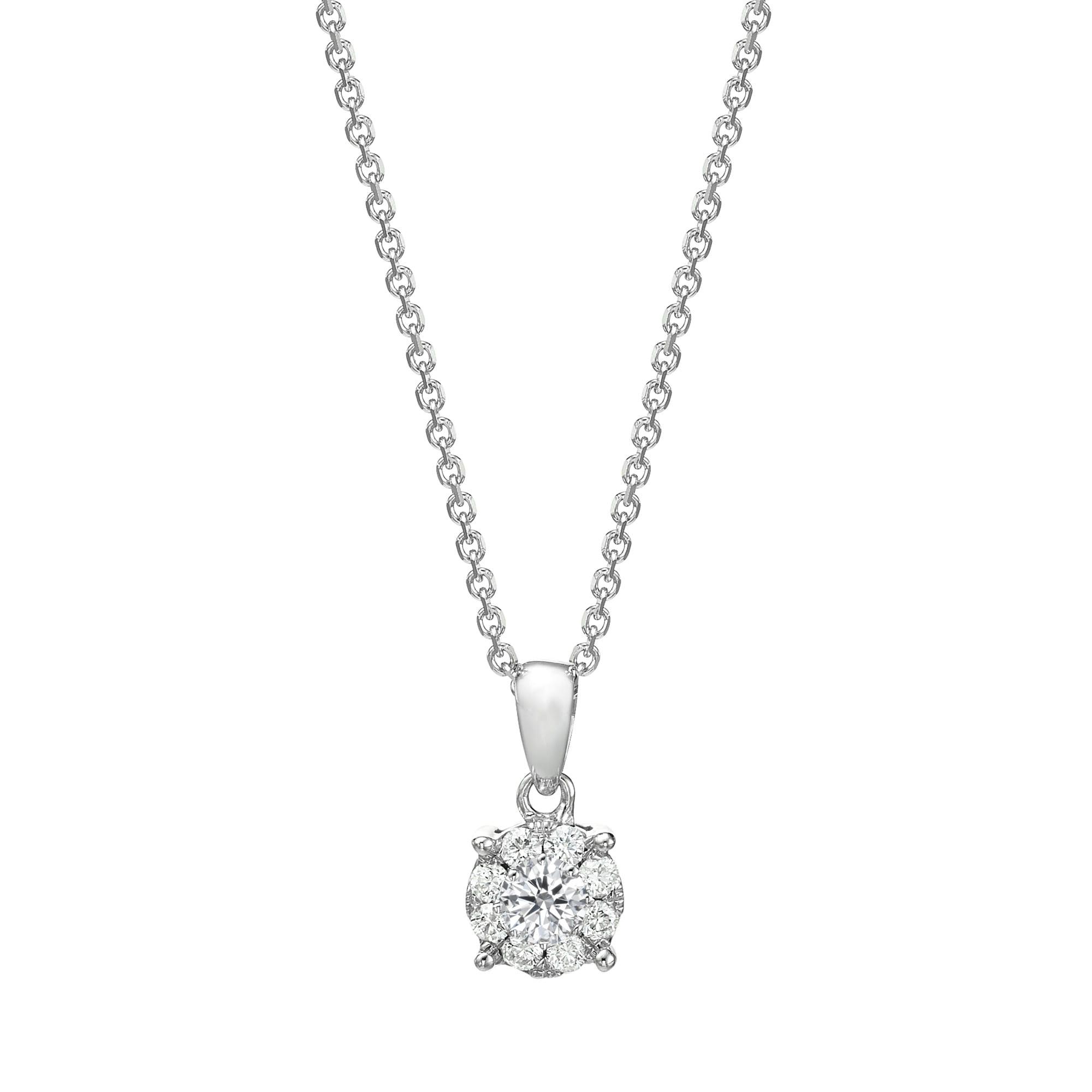 תליון יהלומים דגם Niv