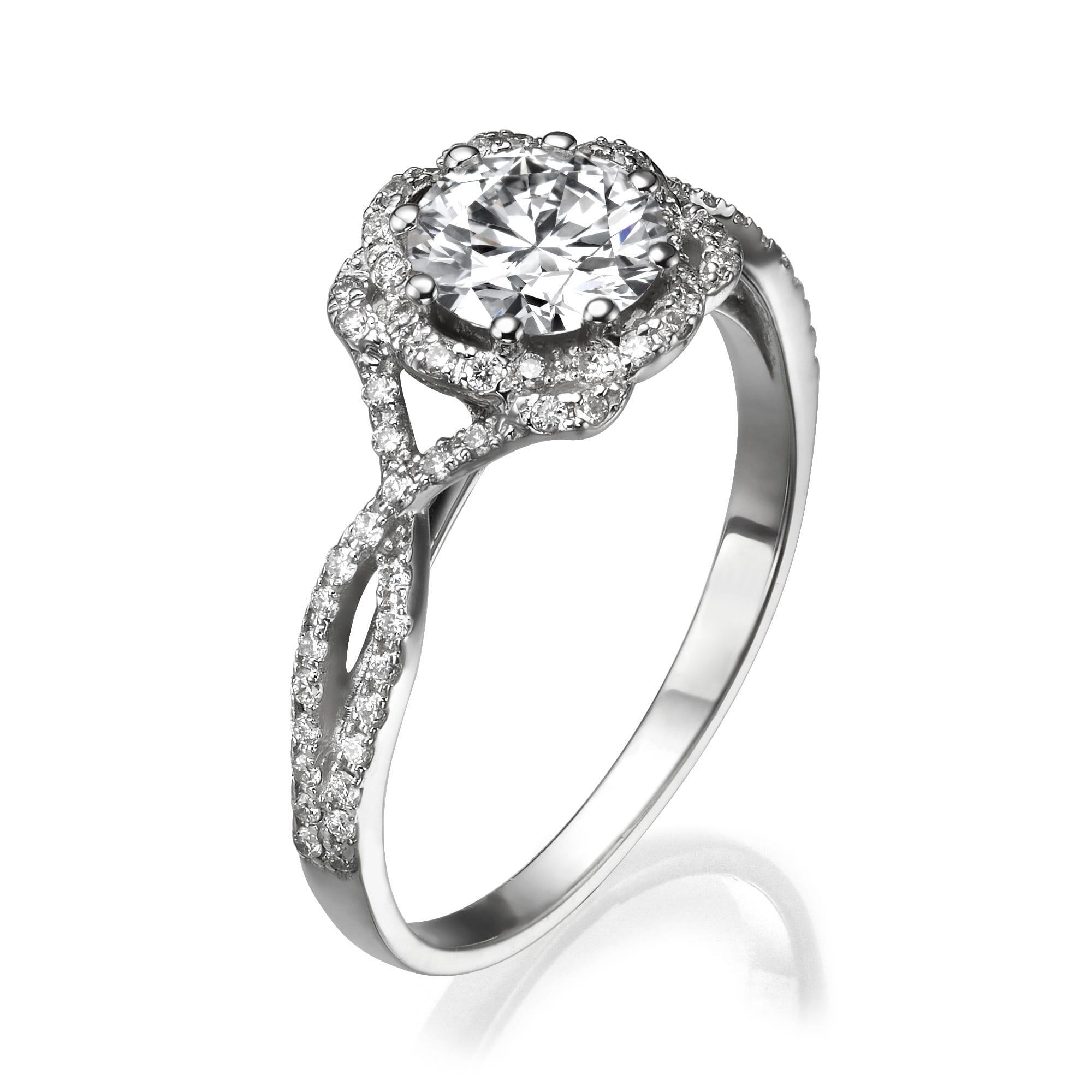 טבעת אירוסין דגם Elinor