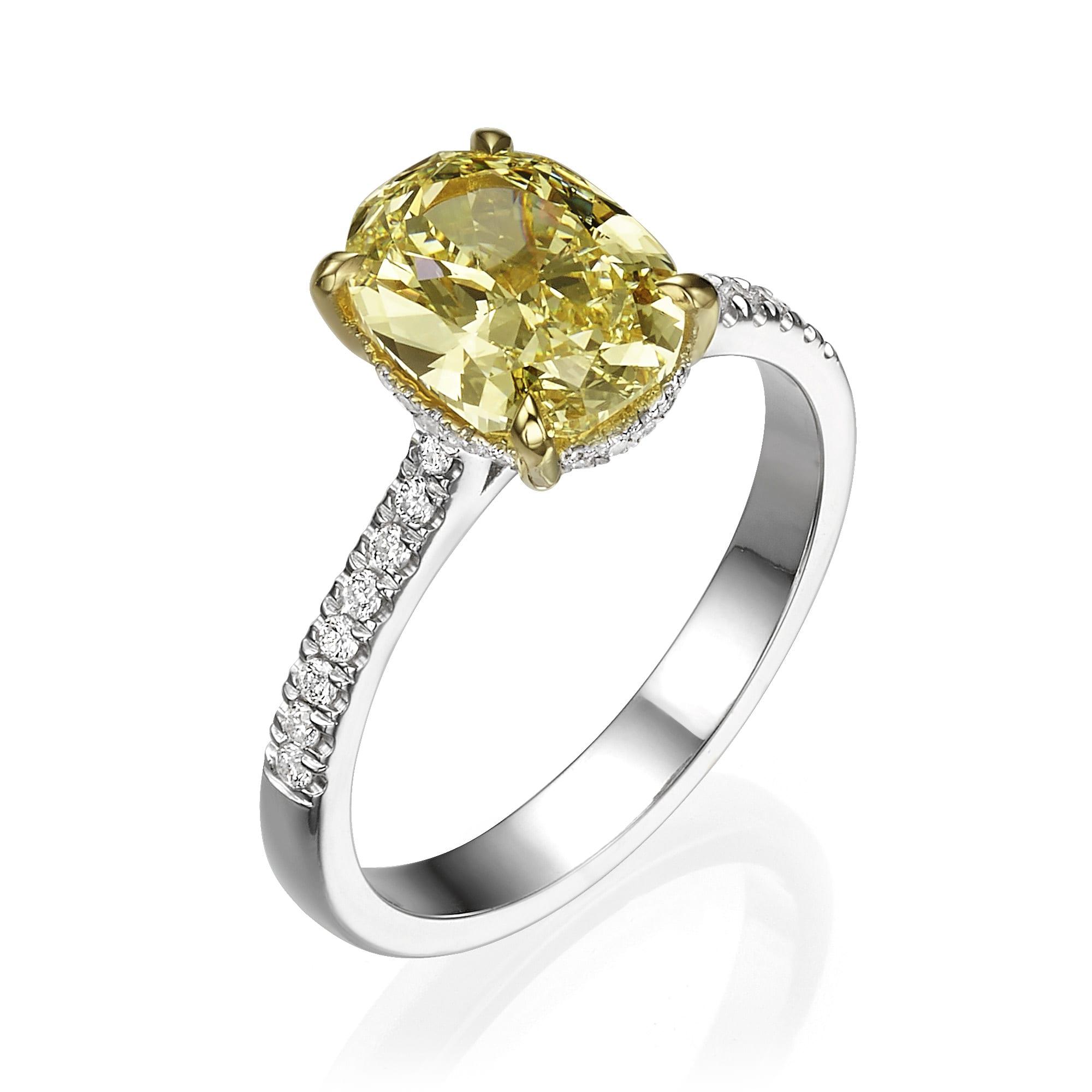 טבעת אירוסין דגם Alicia