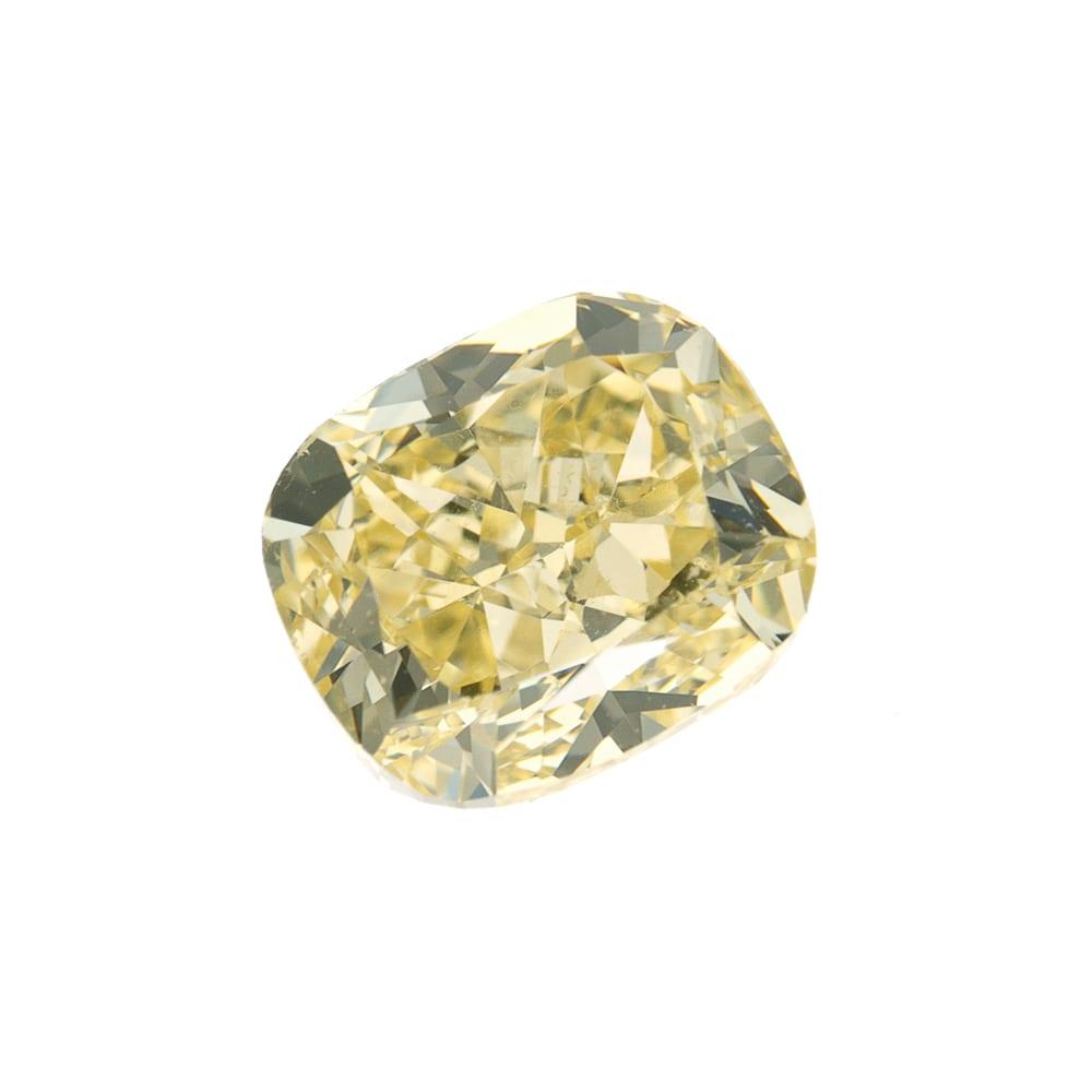 יהלום צהוב טבעי 0.70 קראט GIA