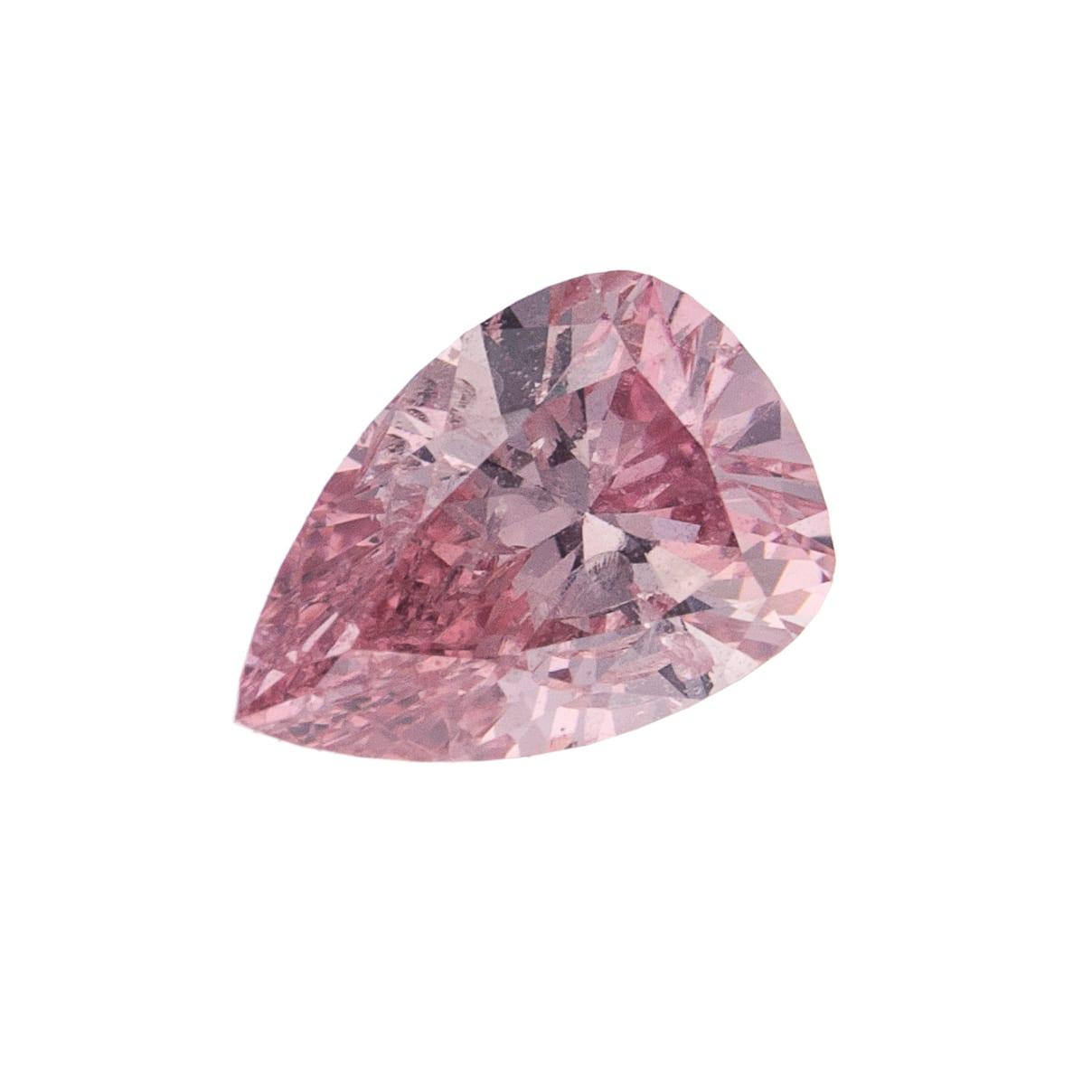 יהלום ורוד טבעי 0.21 קראט GIA