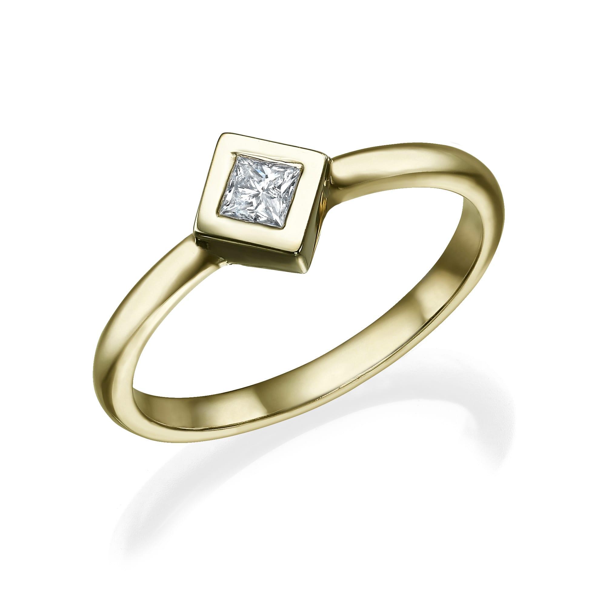 טבעת יהלום דגם Sam