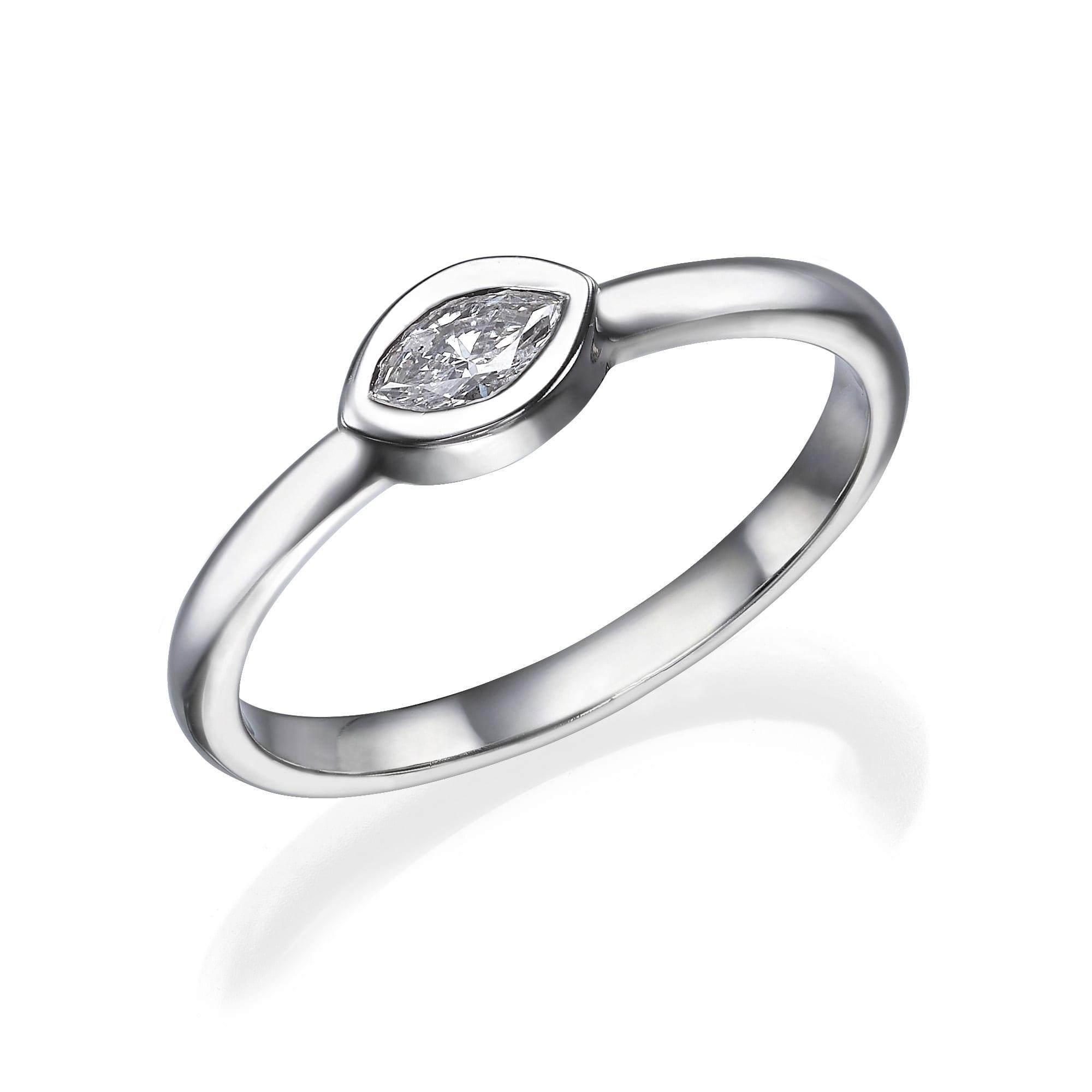 טבעת יהלום דגם Sam ב-30% הנחה