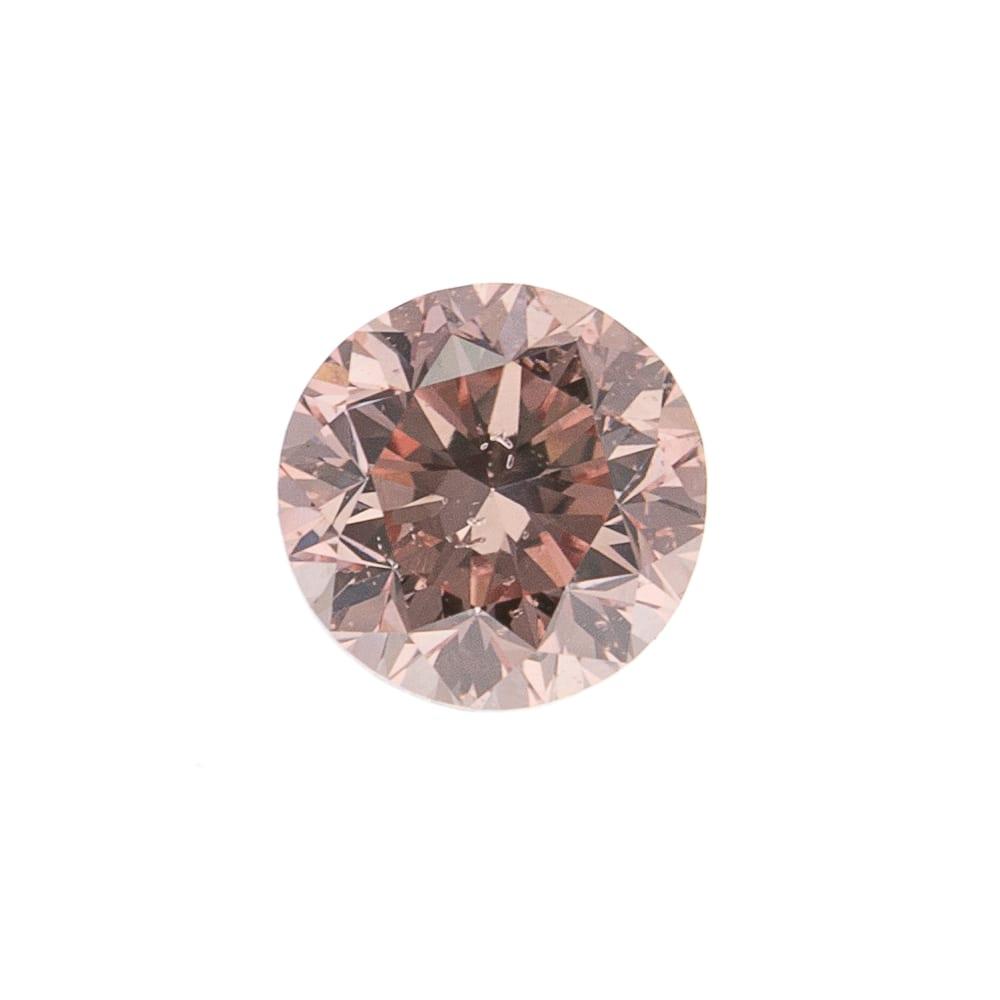יהלום ורוד טבעי 0.18 קראט GIA