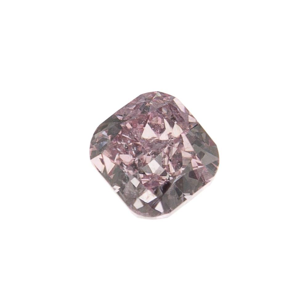 יהלום טבעי בגוון סגול 0.17 קראט GIA