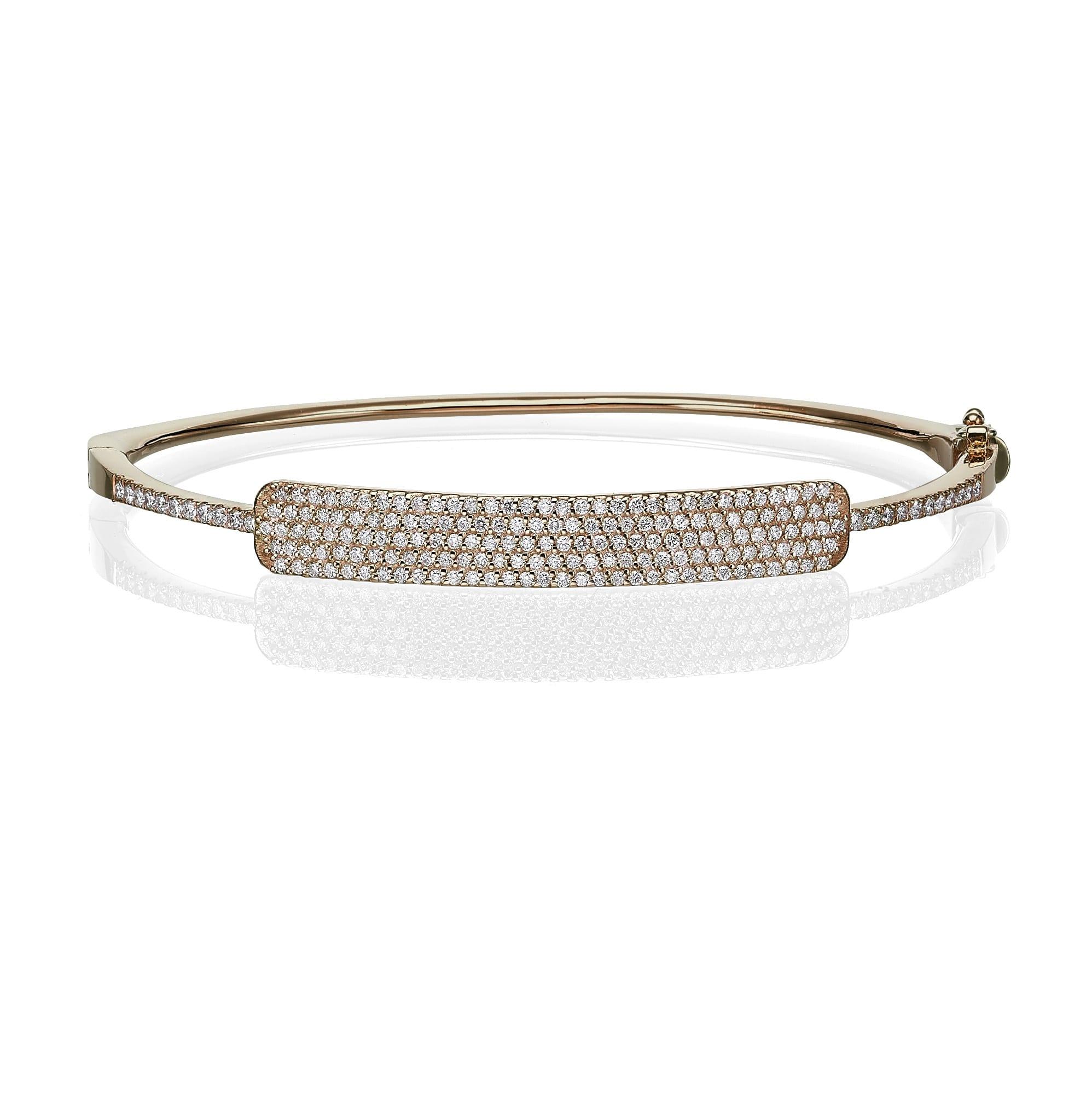 צמיד יהלומים דגם Daisy