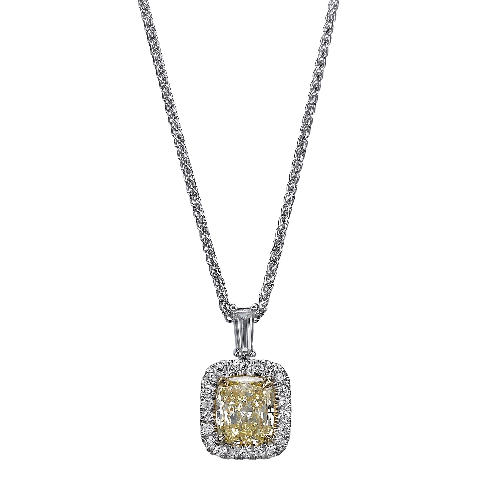 תליון יהלומים דגם Ines