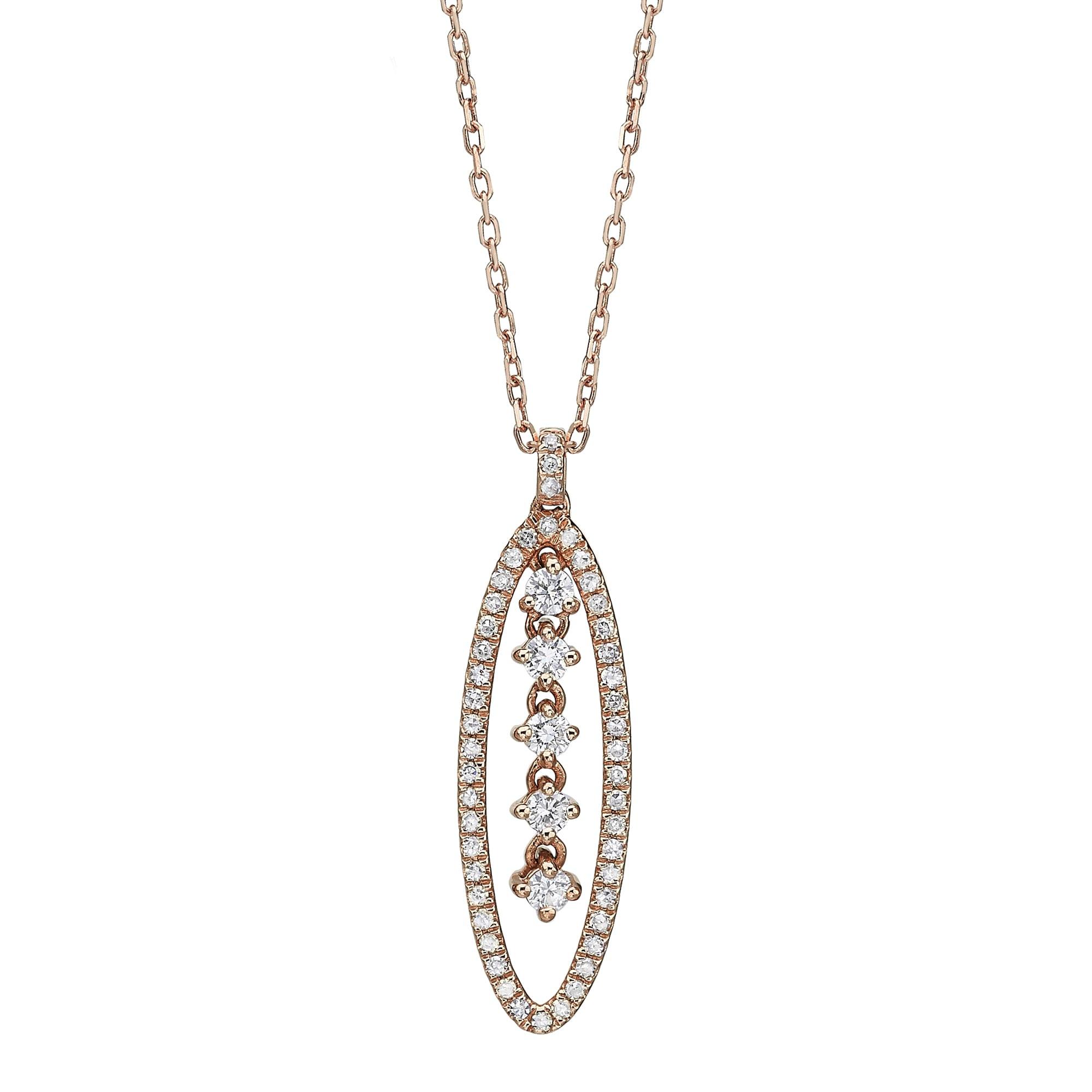 תליון יהלומים דגם Liza ב-40% הנחה