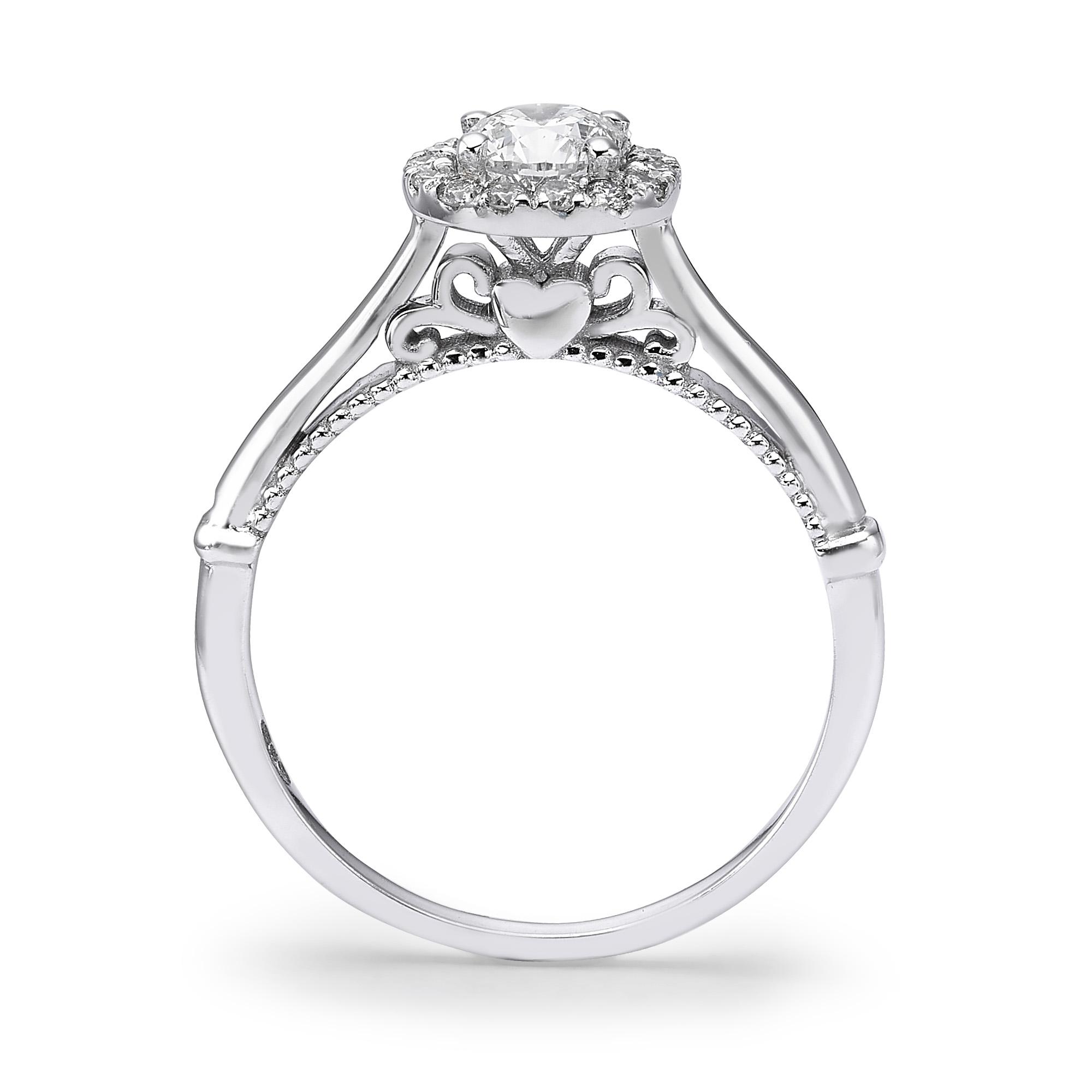 טבעת יהלומים דגם Danit