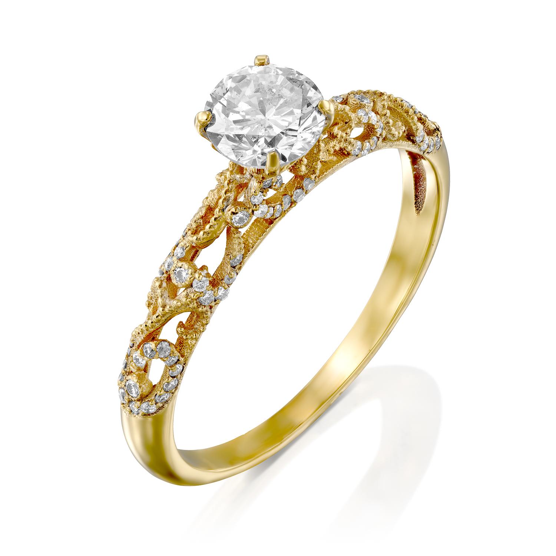טבעת אירוסין דגם Noam ב-50% הנחה!!!
