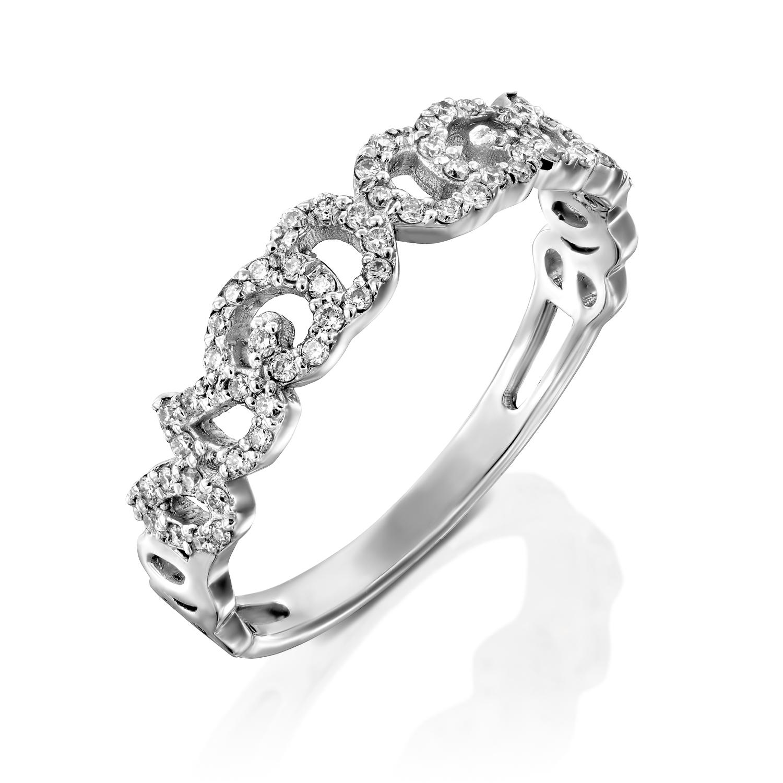 טבעת יהלומים דגם Lian ב-25% הנחה!!!
