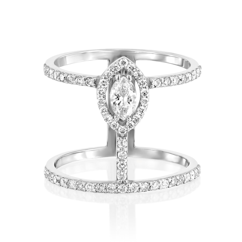 טבעת יהלומים דגם Izabel