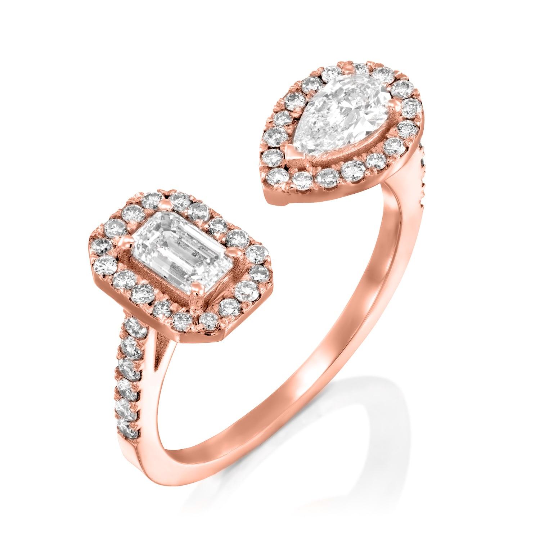 טבעת אירוסין דגם Rosie