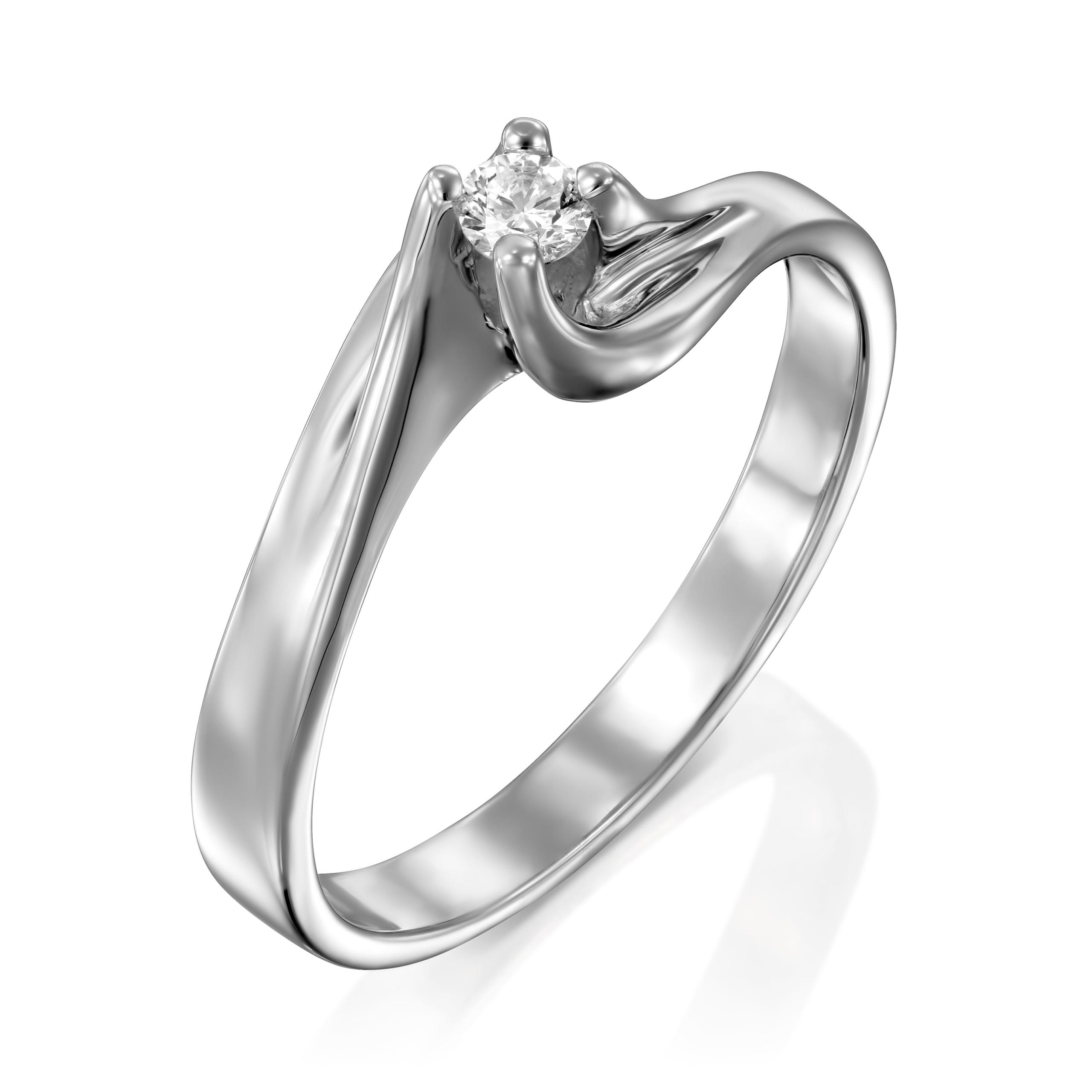 טבעת יהלום דגם Chen ב-25% הנחה!!!