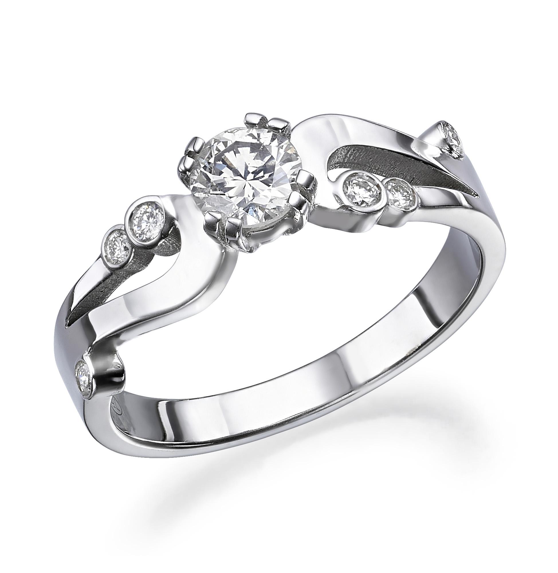 טבעת יהלומים דגם Liz ב-40% הנחה!!!